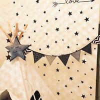 110Pcs Multi-sized Star Wall Stickers Kids Room Decals Art Bedroom Vinyl Decor
