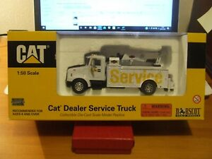 Norscot 55118 CAT Dealer Service Truck, Peterbilt 330, 1:50, excellent