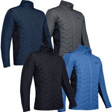 Under Armour Mens ColdGear Reactor Hybrid Water Repellent Quilted Golf Jacket
