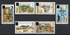 Mauritius: Postage Due 1982 Postfrisch