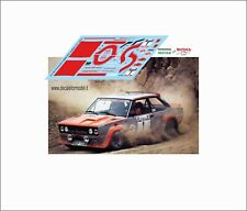 DECALS FIAT 131 ABARTH VERINI RALLY ELBA 1978