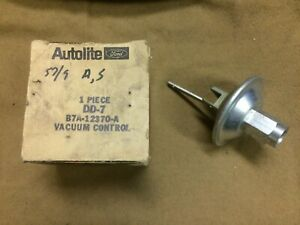 1957,1958,1959 Ford,Thunderbird,Lincoln,Mercury NOS distributor vacuum advance