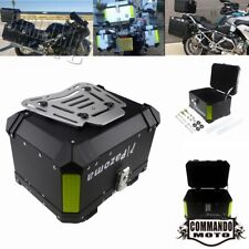 Motorcycle Trunk Tail Box Luggage Top Case Kit For Harley Touring BMW R1200GS