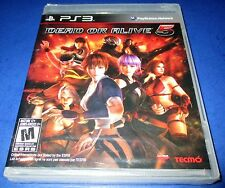 Dead or Alive 5 Sony PlayStation 3 *Factory Sealed! *Free Shipping!