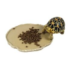 Pet Reptile Water Dish Food Tray Bowl Pool Amphibians Tortoise Snake Lizard Bowl