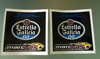 TP Team Estrella Galicia Marc VDS MotoGP Racing Team Aufkleber Stickers X2)/1105