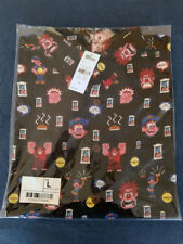 Reyn Spooner Disney Pixar John Lasseter Wreck It Ralph Hawaiian Shirt Large