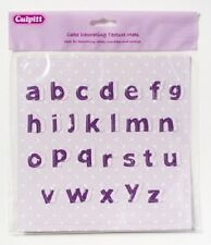 ALPHABET TEXTURE MAT - LOWER CASE FOR USE WITH SUGAR PASTE FOR CAKE DECORATING