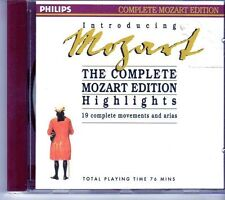 (EI767) Introducing Mozart - 19 Complete Movements & Arias - 1990 CD