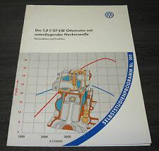SSP 203 VW Lupo 1,0l 37 kW Ottomotor mit  untenliegender Nockenwelle Stand 1998