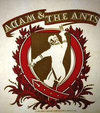 Adam & the Ants USA logo band 80s, vintage retro tshirt transfer print new, NOS
