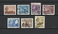 Elizabeth II (1952-Now) Used North Bornean Stamps
