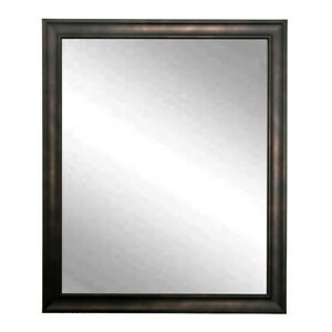 "BrandtWorks Clouded Bronze Wall Mirror, 30"" x 36"" - BM013L"