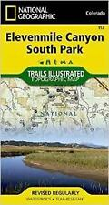 NEW Elevenmile Canyon, South Park (National Geographic Trails Illustrated Map)