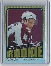 2009-10 MICHAEL VERNACE O-PEE-CHEE RAINBOW PARALLEL ROOKIE CARD #520