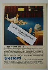 Werbeanzeige/advertisement A5: Tretford Teppichboden 1967 (05081621)