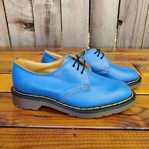 💥Dr. Martens Doc England MIE Rare 80's Vintage Electric Blue Shoes UK5 US7💥