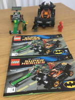 LEGO 76012 DC Comics Super Heroes Batman The Riddler Chase VGC With Instructions