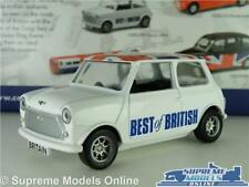 AUSTIN MORRIS MINI MODEL CAR BEST BRITISH UNION JACK FLAG CORGI GS82298 1:36 T3