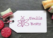 """♥ Stempel individuell """"Biene"""" persönlicher Namensstempel ♥"""