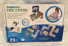 Imaginarium Discovery 73 Piece Colors & Shapes Activities Learning Pack NEW
