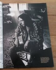 NEIL YOUNG @ Broken Arrow Ranch magazine PHOTO/Poster/clipping 11x8 inches