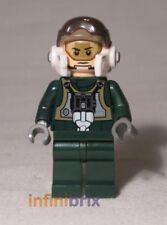 Lego Custom A-wing Fighter Pilot Star Wars Minifigure BRAND NEW cus262