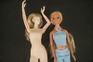 Barbie Doll Unknown Clones Two Doll Lot