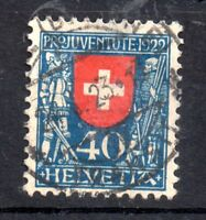 Switzerland 1922 40c Pro Juventute J23 fine used WS11239