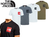 The North Face T-Shirt Mens Logo Short Sleeved Tee Cotton Crew Top TNF