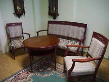 Sofa Sessel Tisch Sitzgruppe Neo Klassizismus Jugendstil um 1900