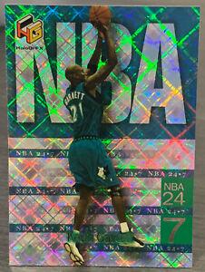 1999 Upper Deck HoloGrFx Kevin Garnett NBA 24-7 Insert #4