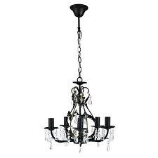 [lux.pro] Lustre 5-fl. NOIR PLAFONNIER LUSTRE SUSPENSIONS lampe