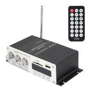 Wireless A7 Digital Audio Lautsprecher FM Verstärker Fernbedienung USB MP3