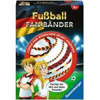 Ravensburger 18349 Fanbänder Crafts Football Fan Bands GERMANY Create Make NEW