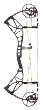 New 2017 Bear Archery Moment 45-60# LH Compound Bow Shadow Black
