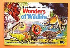 "BROOKE BOND...UNUSED EMPTY ALBUM..."" WONDERS OF WILDLIFE ""...1976..."