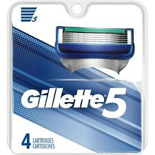 Gillette5 Men's Razor Blade Refills by Gillette, 4 Count * Free Shipping *