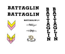 Battaglin Giro Bicycle Decals, Transfers, Stickers - Black n.20