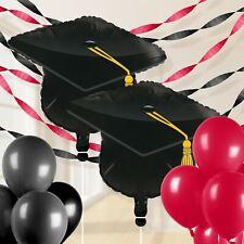 Red Graduation Balloon Decorations Kit