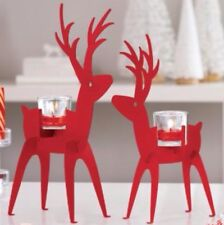 PartyLite Modern Deer Votive Holder Pair