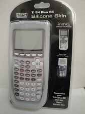 TI-84 Plus SE Silicone Skin Clear Calculator Cover Texas Instruments Protection