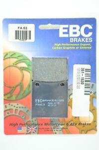 Standard Organic Brake Pads EBC FA63