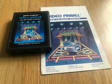 Atari 2600 Game Loose Video Pinball w/ Manual Tested & Working - .99 shipping!