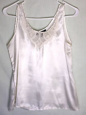 Sophisticates by Jonathan Martin - White Sleeveless Career Top Size M