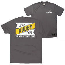 Fb Rugby Tee - Its A Rugby Thing - Novelty Birthday Dry Fit Performance T-Shirt