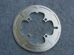 Aluminum Chain Guard Solid 50 Teeth 104 Bolt Circle 4 Sleeve