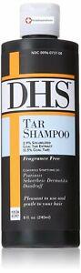 DHS Tar Dermatological Hair & Scalp Shampoo  8 Oz