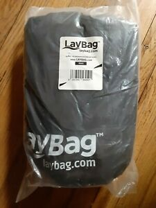 LayBag Inflatable Air Lounge, Black