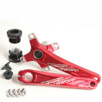 Aluminum MTB Bicycle Crankset Fat Crank 170mm BCD Bracket For Road Bike 104mm